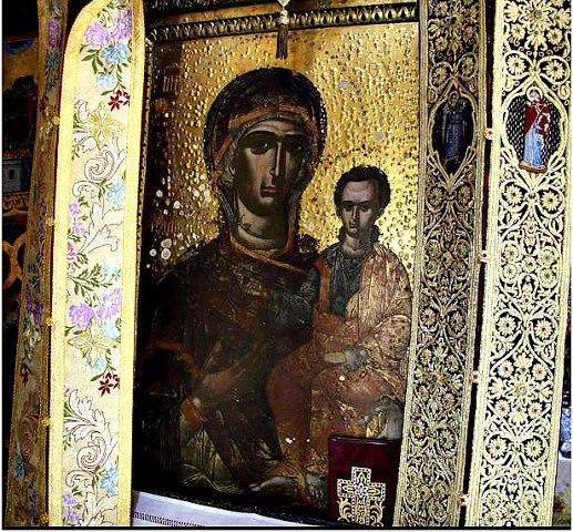 Παρακλητικός Κανών εις την Υπεραγίαν Θεοτόκον Παμμακάριστος Κορώνης και Σεραφείμ Νέου Ιερομάρτυρος Κοινή Παράκλησις Aaaaa11