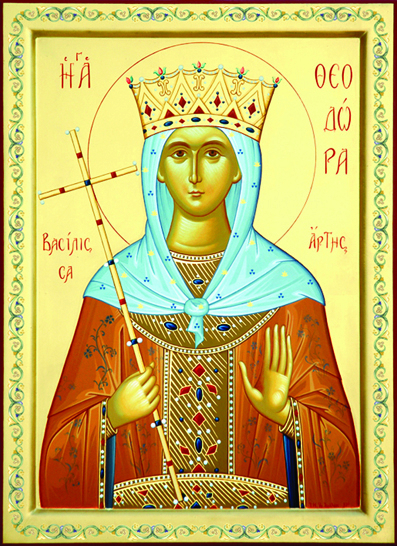 Παρακλητικός Κανών εις την Αγία Θεοδώρα Βασίλισσα της Άρτας Ag_the10