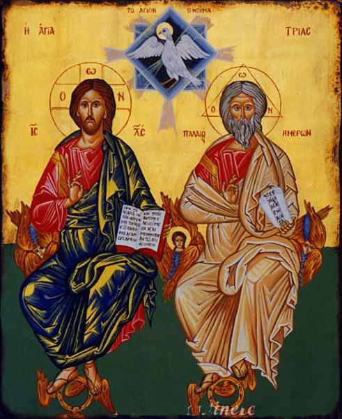 Παρακλητικός Κανών εις την Πανοικτίρμονα και Πολυεύσπλαχνο Αγίαν Τριάδα Agiatr10