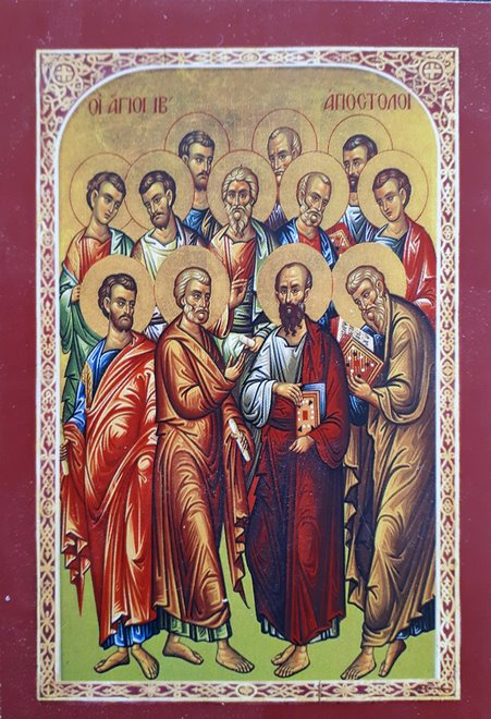 Παρακλητικός κανών εις τους Αγίους Δώδεκα Πανεύφημους Αποστόλους. Agioi_10