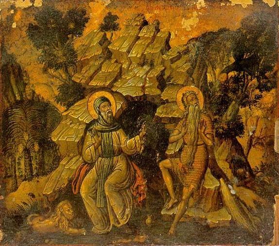 Παρακλητικός Κανών εις τους Αγίους Αντωνίου του Μεγάλου και Παύλου του Θηβαίου   Agiosa13