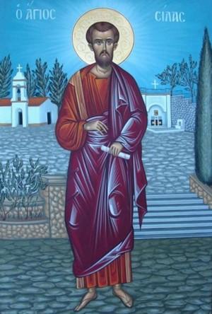 Παρακλητικός Κανών εις τον Άγιον Απόστολο Σίλα Agsila10