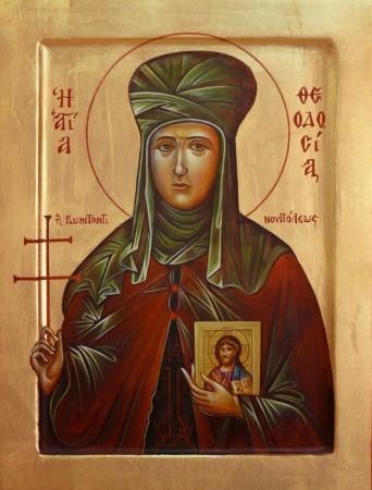 Παρακλητικός Κανών της Αγίας Ενδόξου Οσιομάρτυς Θεοδοσία της Κωνσταντινοπουλίτισσης Agtheo10