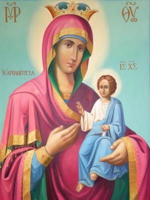 Παρακλητικός Κανών εις την Υπεραγίαν Θεοτόκον την Αρβανίτισσαν Arbana10