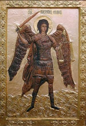 Παρακλητικός Κανών εις τον Ένδοξον Αρχιστράτηγον Μιχαήλ τον Προστάτην του Αιγαίου Πελάγους Arxagg10