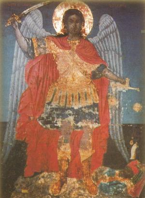 Παρακλητικός Κανών στόν Μέγα Αρχάγγελο Μιχαήλ καί στόν Πάντιμο Ήλο του Σωτήρος Χριστού Arxagg10