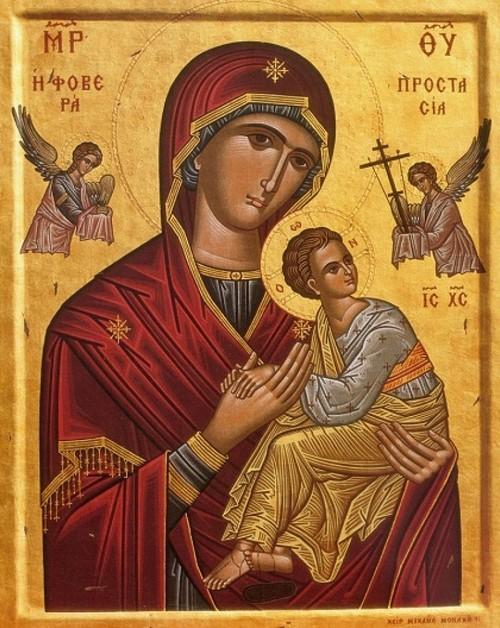 Παρακλητικός Κανών εις την Υπεραγίαν Θεοτόκον την Φοβερά Προστασίαν Νο2 Fovera10