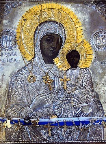 Παρακλητικός Κανών εις την Υπεραγίαν Θεοτόκον την Καμαριώτισσαν Σαμοθράκης Kamari10