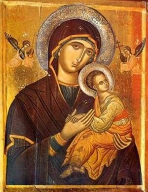 Παρακλητικός κανών εις την Παναγία Καστριανή Κέας Κυκλάδων Kastri10