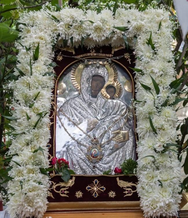 Παρακλητικός Κανών εις την Υπεραγίαν Θεοτόκον Ελεούσαν της Ξυνιάδος Ksinia10