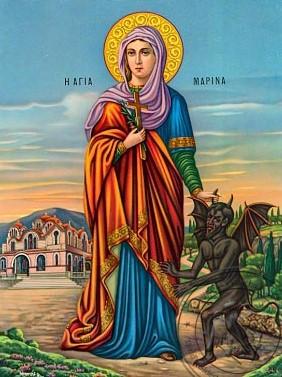 Παρακλητικός κανών εις την Αγία Μεγαλομάρτυρα Μαρίνα Marina10