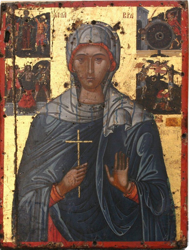 Παρακλητικός Κανών εις την Αγίαν Μαύραν την Θαυματουργόν Maural10