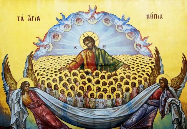 Παρακλητικός Κανών εις τον Χορόν των Αγίων Νηπίων των Αναιρεθέντων υπο Βασιλέως Ηρώδου εν Βηθλεέμ της Ιουδαίας Nipia11