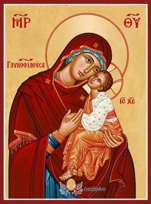 Παρακλητικός Κανών εις την Υπεραγία Θεοτόκο την Γλυκοφιλούσα Panagi15