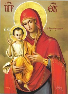 Παρακλητικός Κανών εις την Υπεραγίαν Θεοτόκο την Χρυσαφίτισσα Panagi18