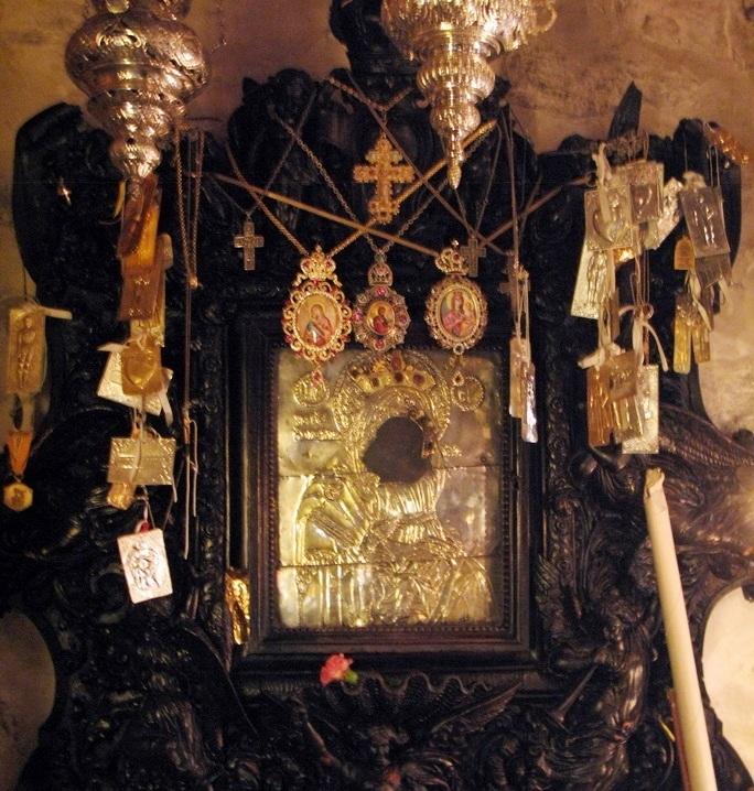 Παρακλητικός Κανών εις την Υπεραγίαν Θεοτόκον Χοζοβιώτισσα Αμοργού Panagi31