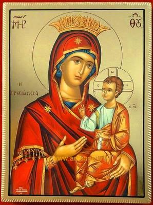 Παρακλητικός Κανών εις την Αγίαν εικόνα της Υπεραγίας Θεοτόκου της Προυσώτισσης Prousi10
