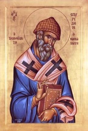 Εγκώμια εις τον εν Αγίοις Πατέρα ημών και Θαυματουργόν Σπυρίδωνα Επίσκοπον Τριμυθούντος Spirid10