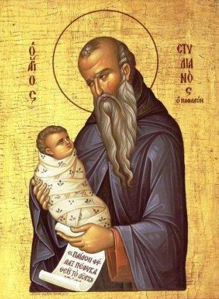 Παρακλητικός κανών εις τον Όσιον Θεοφόρον Πατέρα Στυλιανόν τον εκ Παφλαγονίας τον Θαυματουργόν Stylia10