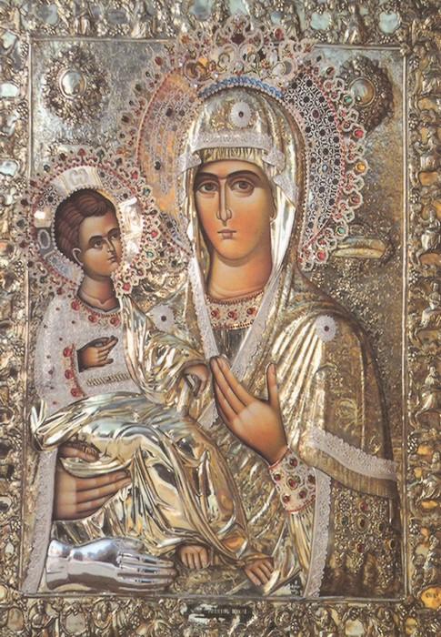 Παρακλητικός Κανών εις την Υπέρ Αγία Θεοτόκο την Τριχερούσαν Trixer10