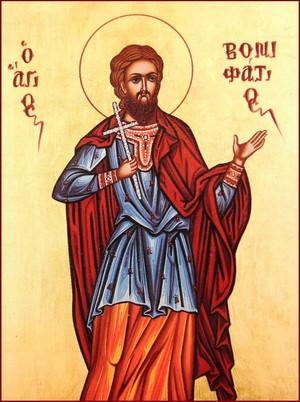 Παρακλητικός κανών εις τον Άγιο Μάρτυρα Βονιφάτιο Vonifa10