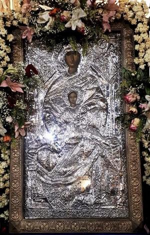 Παρακλητικός Κανών εις την Υπεραγίαν Θεοτόκον Χρυσολεόντισσα Αίγινας Xrisol10