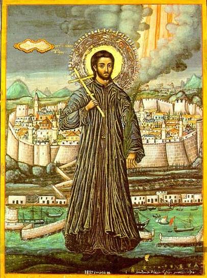 Παρακλητικός Κανών εις τον Άγιον Ένδοξον Νεομάρτυρα Κωσταντίνον τον Υδραίον τον εν Ρόδο Αθλήσαντα Ydraio10