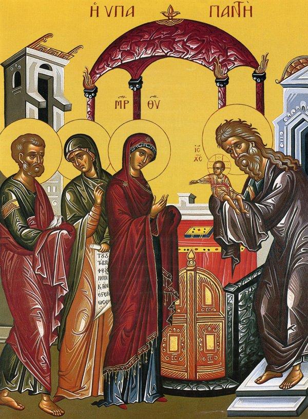 Παρακλητικός Κανών εις την Υπαπαντή του Κυρίου ημών Ιησού Χριστού Ypapan10