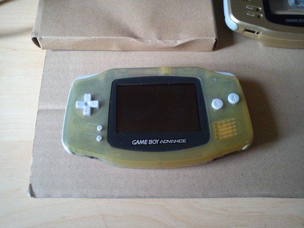 Console Game Boy Adance backlight mod ASG-101 et custom 33145111