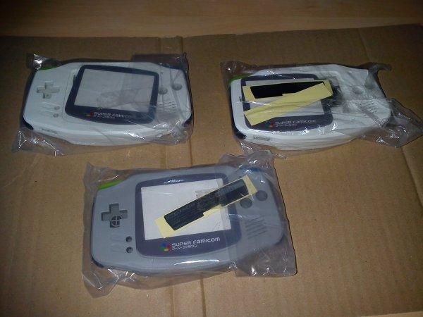 Console Game Boy Adance backlight mod ASG-101 et custom 33153412