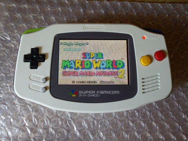 Console Game Boy Adance backlight mod ASG-101 et custom 33153416