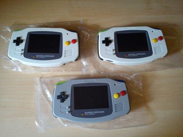 Console Game Boy Adance backlight mod ASG-101 et custom 33153418