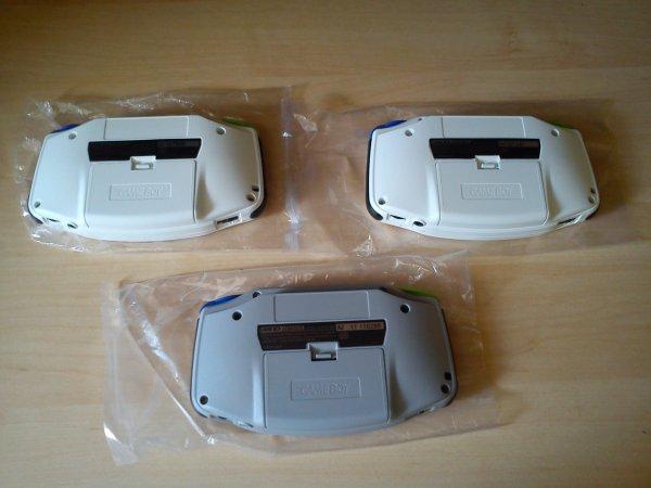 Console Game Boy Adance backlight mod ASG-101 et custom 33153419