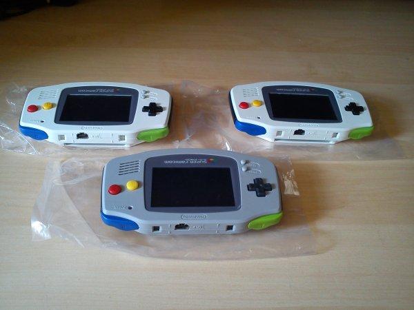 Console Game Boy Adance backlight mod ASG-101 et custom 33153420