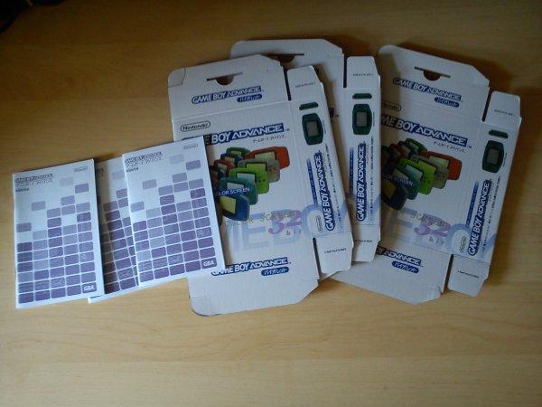 Console Game Boy Adance backlight mod ASG-101 et custom 33153421