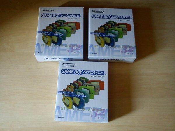 Console Game Boy Adance backlight mod ASG-101 et custom 33153422