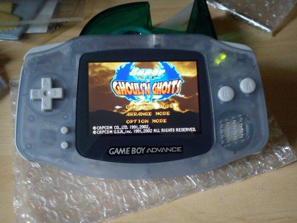 Console Game Boy Adance backlight mod ASG-101 et custom 33153911