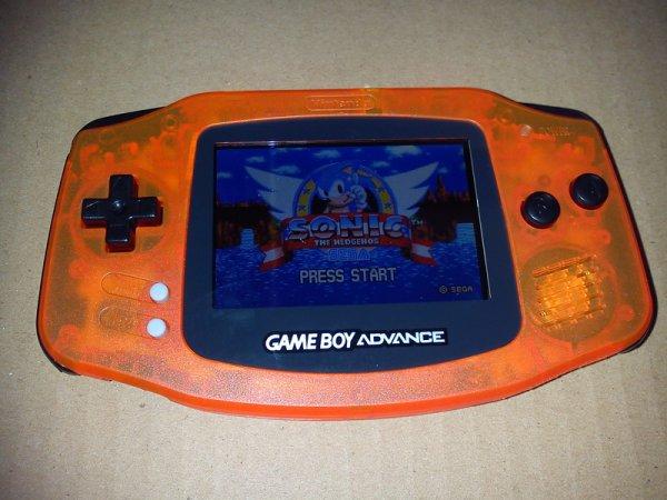 Console Game Boy Adance backlight mod ASG-101 et custom 33153913