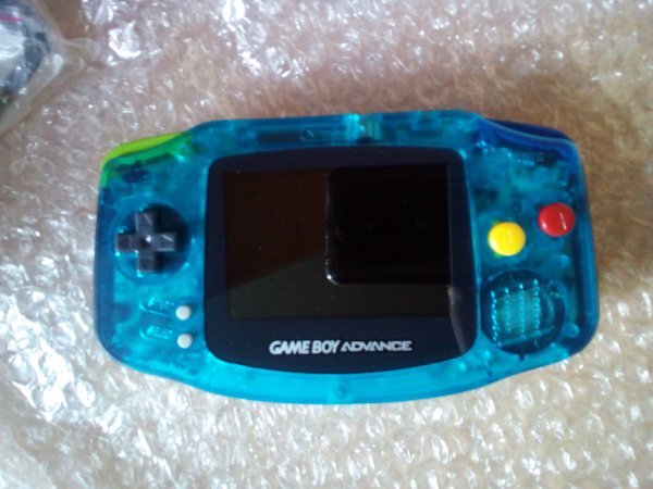 Console Game Boy Adance backlight mod ASG-101 et custom 33179815