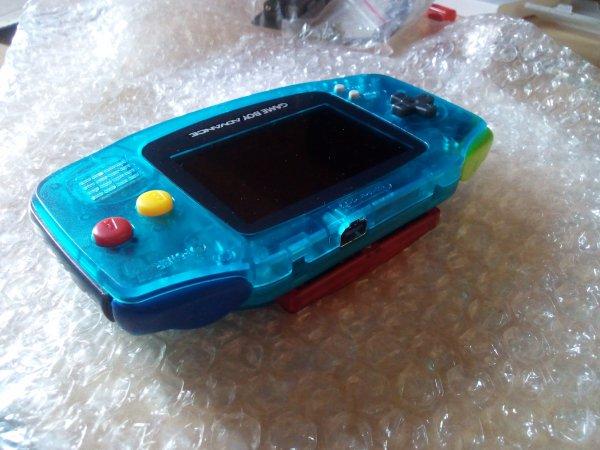 Console Game Boy Adance backlight mod ASG-101 et custom 33179817