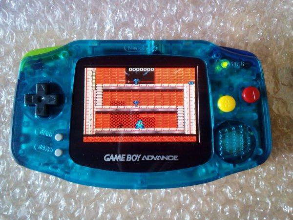 Console Game Boy Adance backlight mod ASG-101 et custom 33179818