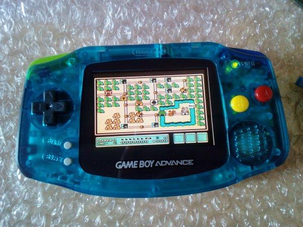 Console Game Boy Adance backlight mod ASG-101 et custom 33179819
