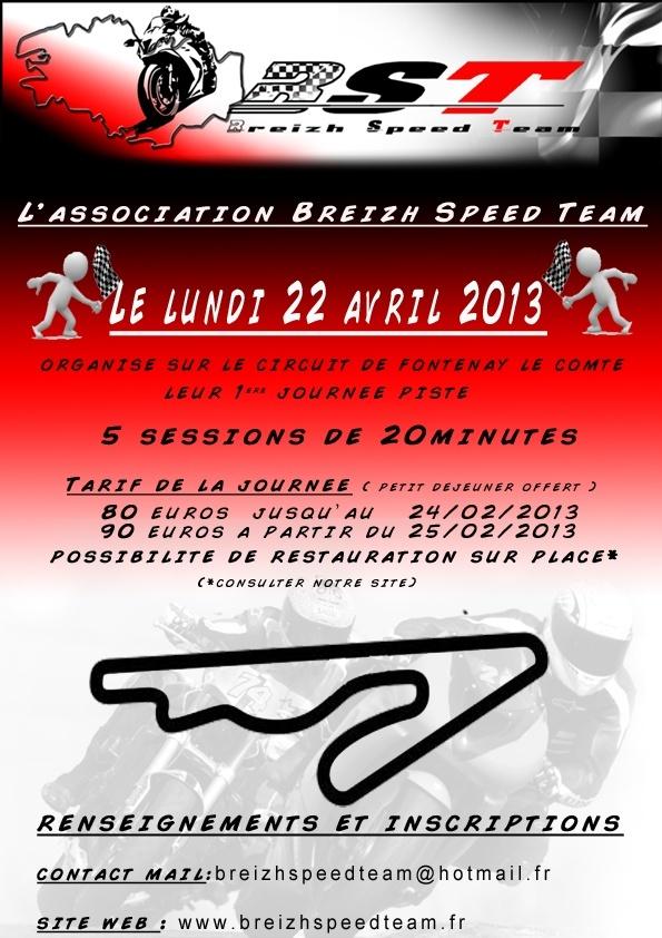 Lundi 22 avril - circuit de Fontenay le comte Affich10