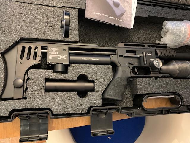 Réglages de la Carabine PCP FX Airguns The Impact MKII Power Plenum Sniper en 25 Img_6711