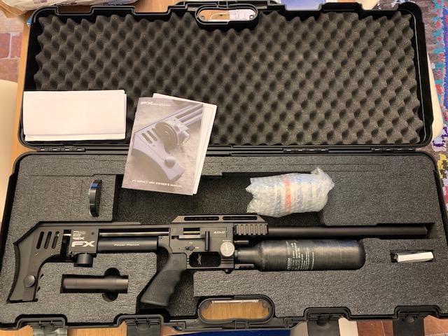 Réglages de la Carabine PCP FX Airguns The Impact MKII Power Plenum Sniper en 25 Img_6714