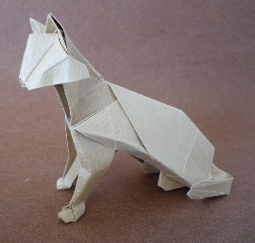 Cire pour petites sculptures et calcinable à la fonte  Chat_d10