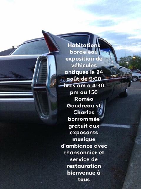 exposition de voiture antique pour une bonne cause  Exposi10