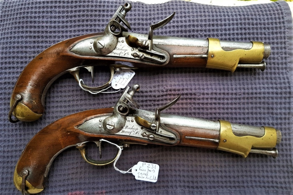 Pistolet An IX de Maubeuge 20190910
