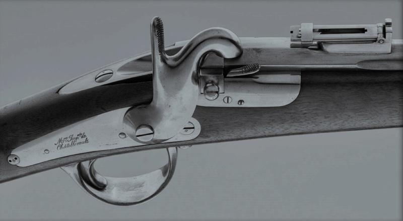 Clerville - un mousqueton se chargeant par la culasse pour la cavalerie Clervi10