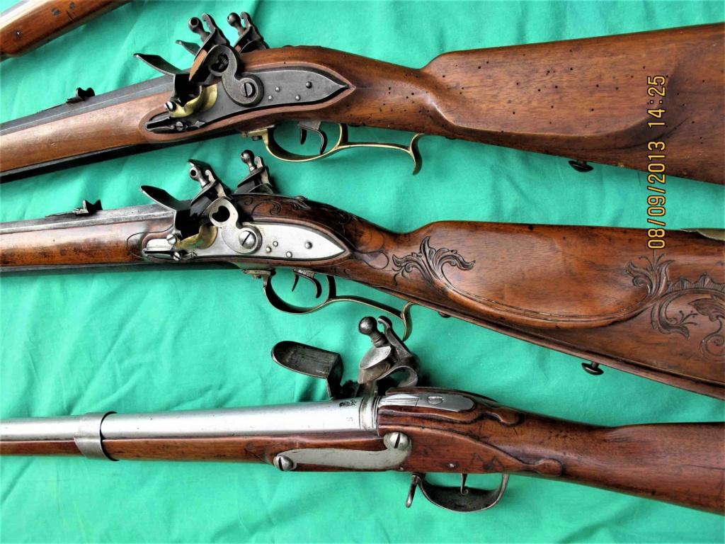 Fusil Double Autrichienne - Doppelstutzen 1768 Img_4319